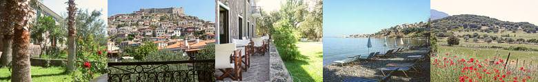 Welcome to AMFITRITI Hotel of Molivos (Mithymna) :: Lesvos (Lesbos) island, Greece